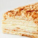 Торт «Наполеон» сметанный