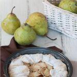 Грушево-ореховый пирог