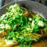 Рыба с имбирем в пивном соусе