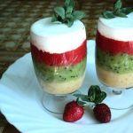 Десерт «Прохладная радуга»