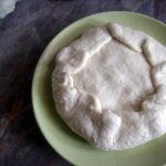 Лепешки с сырым картофелем