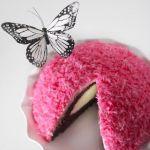 Торт «Розовый снежок»