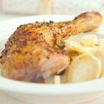 Курица с паприкой и лимоном