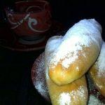 Нежные булочки с фруктовой начинкой
