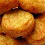 Кабачковые пончики с ветчиной
