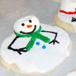 Печенье «Растаявшие снеговички»