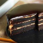 Шоколадный торт с арахисовым маслом