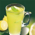 Напиток лимонно-молочный