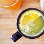 Цитрусовый имбирный чай
