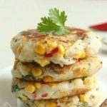 Котлеты из картофеля с кукурузой по-тайски