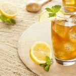 Яблочный напиток с мятой