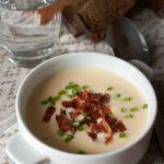 Сырный суп на пиве