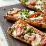Пицца на французском хлебе